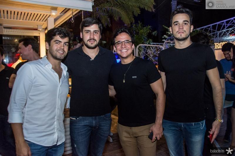 Joao Vitor Vasconcelos, Joao Jaime Jereissati, Panta Neto e Wesley Aguiar