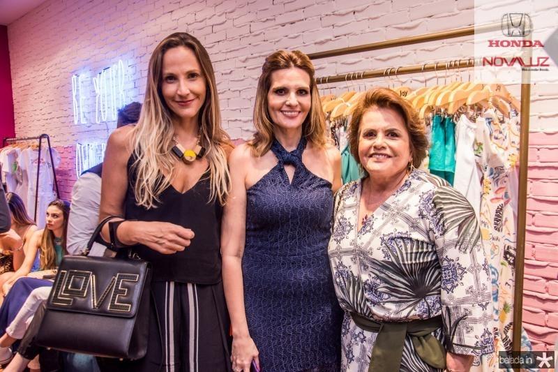 Amanda Medrado, Viviane Goyanna Bayma e Norma Goyanna