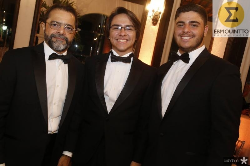 Wagner Castro, Andre Portela e Joao Paulo Guedes