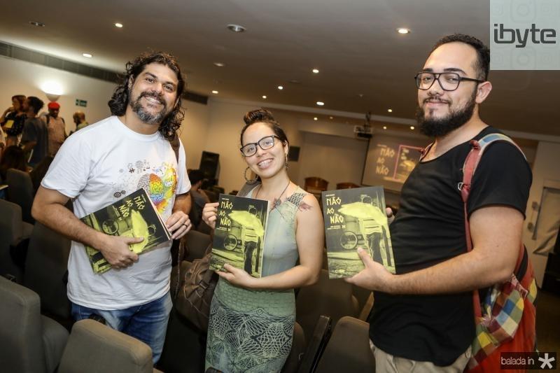 Fernando Leao, Renata Fernandes e Eferson Mendes