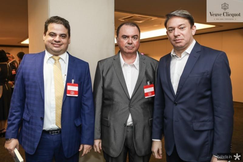 Bruno Dourado, Marcelo Lucena e Paulo Vale