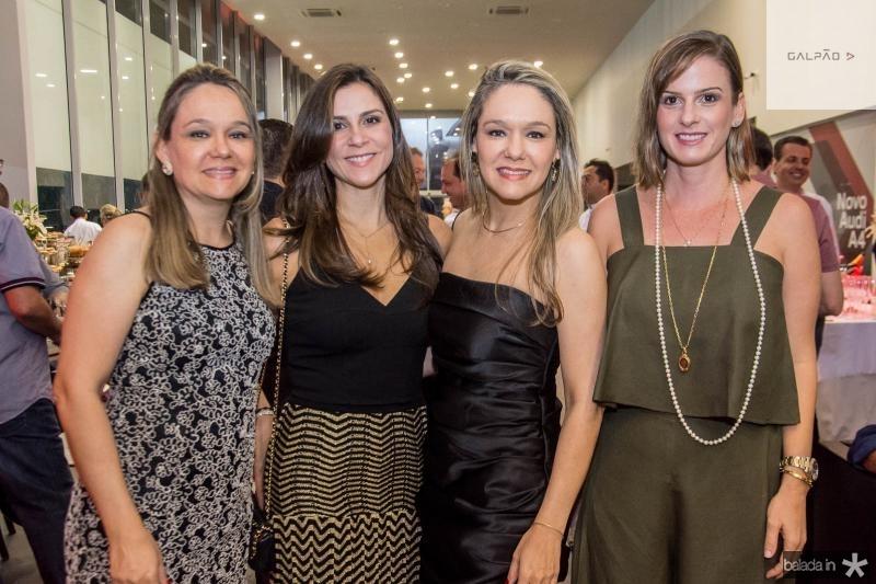 Patricia Markan, Laura Araujo, Erika Lima e Ellen Tigre