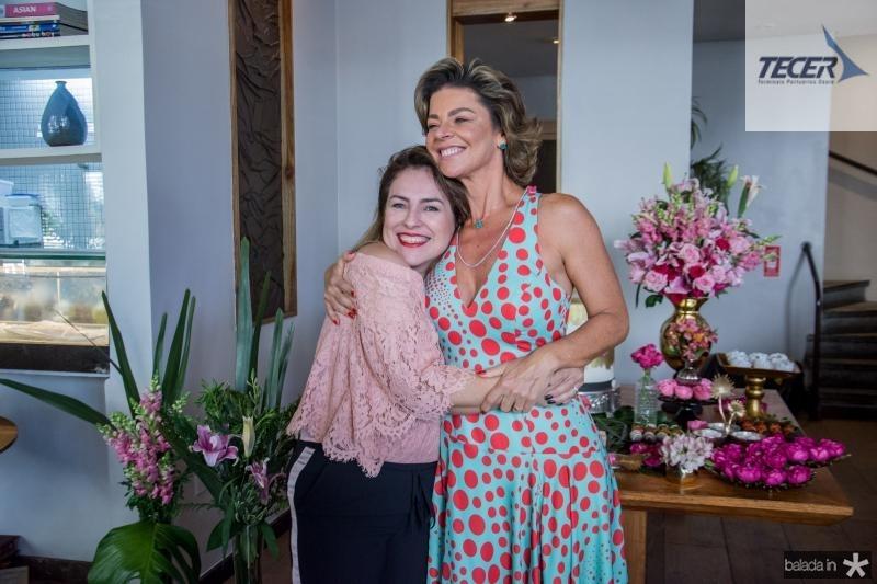 Eveline Frota e Ana Cristina Wolf