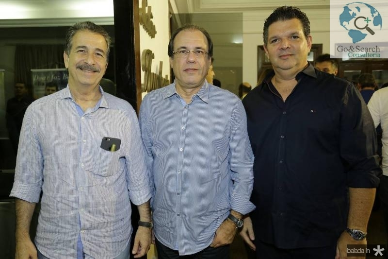 Emilio Ary, Claudio Brasil e Wicar Pessoa