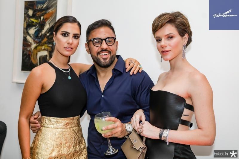 Nicole Pinheiro, Cicero Medeiros e Paulinha Sampaio