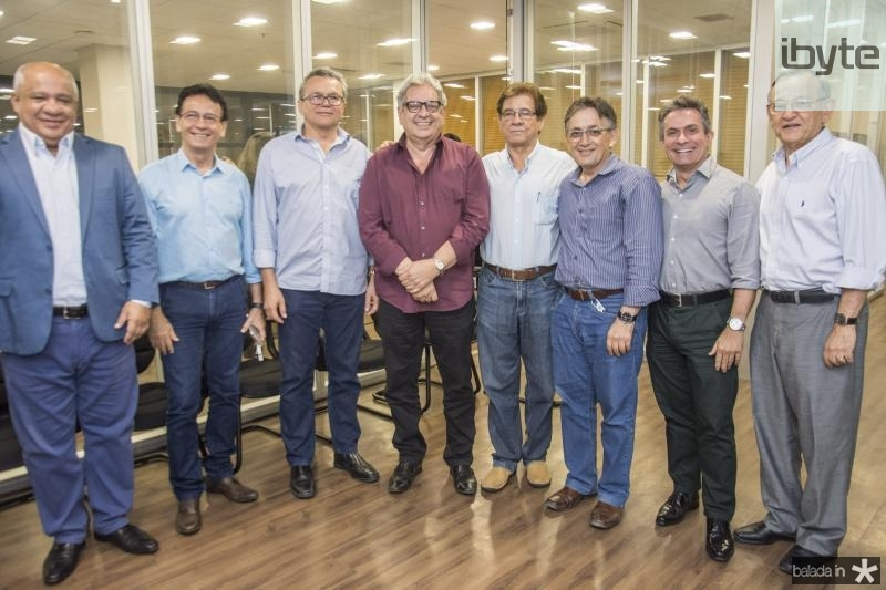 Pedro Alfredo, Francilio Dourado, Eulalio Costa Fred Fernandes, Elias do Carmo, Ribamar Carneiro, Benildo Aguiar e Fred Saboia