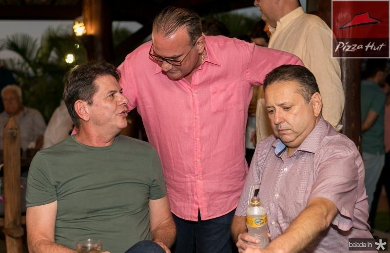 Cid Gomes, Chiquinho Feitosa e Domingos Filho