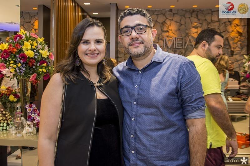 Carol Damiane e Rafael Godinho