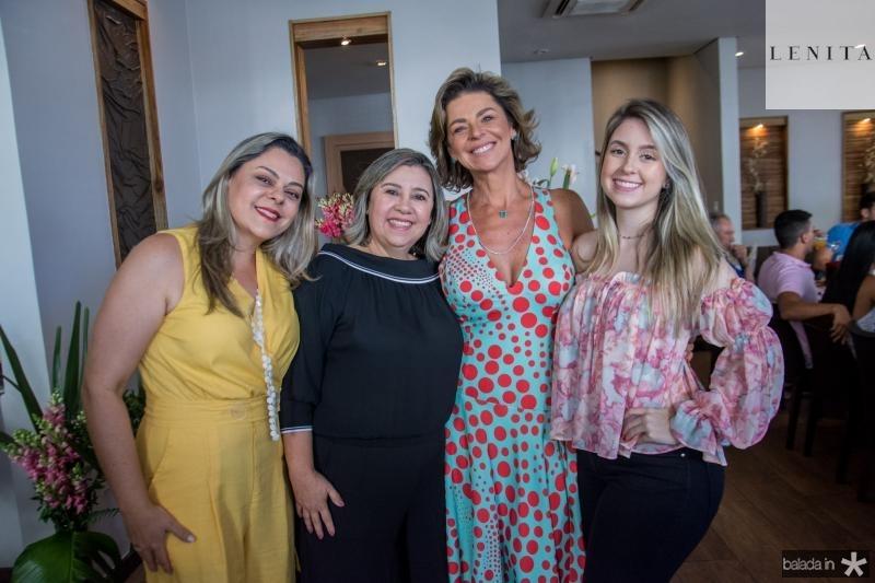 Ticiana Salmin, Soraia Lomonaco, Ana Cristina Wolf e Tayna Lomonaco