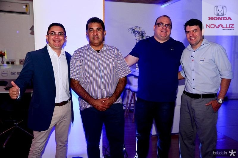 Alexandre Lopes, Sousa, Enderson Silva e Ari Nascimento
