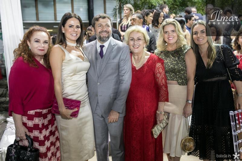 Liseux Brasileiro, Luciana Sousa, Elcio Batista. Socorro França, Waleska Rolim e Raquel Vasconcelos