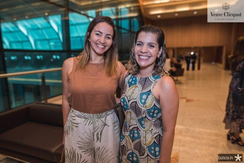 Katrine Soares e Taciana Farias