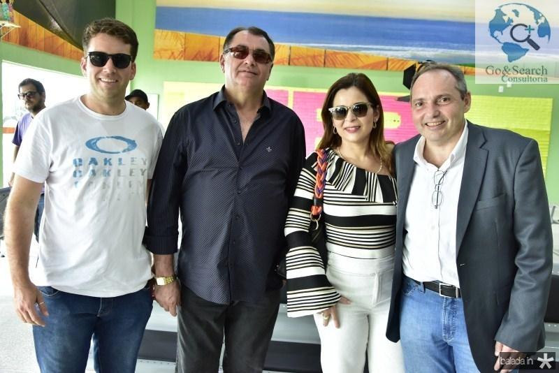 Macel Pontes, Antonio Filho, Lilian Sanfort e Disraele Ponte