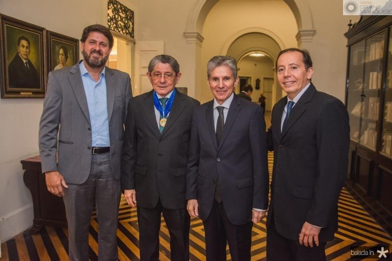 Rafael Rodrigues, Batista de Lima, Padua Lopes e Dudu Rodrigues