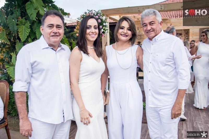 Atenisio Leite, Carol Leite, Liliane Fernandes, Everton Fernades