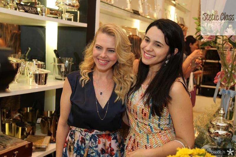 Branca Mourão e Meriane Borges