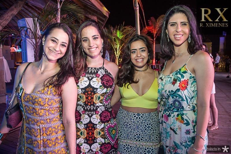 Amanda Carvalho, Julia Lacerda, Flavia Petri e Natalia Medeiros