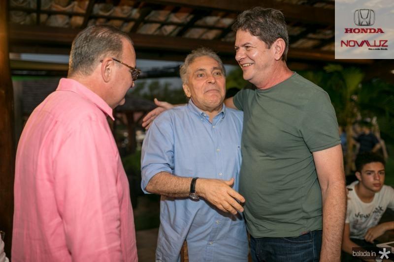 Chiquinho Feitosa, Luis Pontes e Cid Gomes
