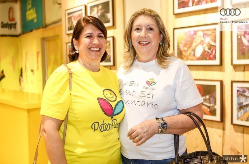 Sandra Salgado e Rosangela Formentin