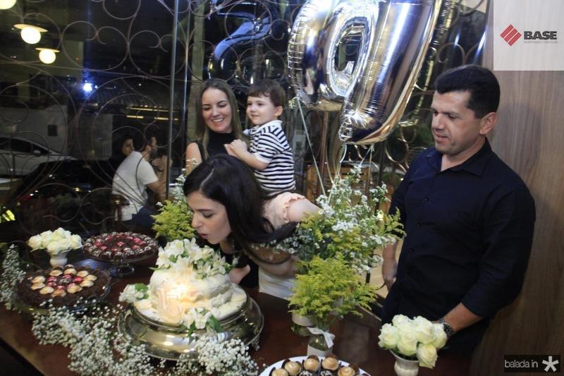 Raquel Vasconcelos, Erick Vasconcelos, Beatrice Vasconcelos e Erick Vasconcelos