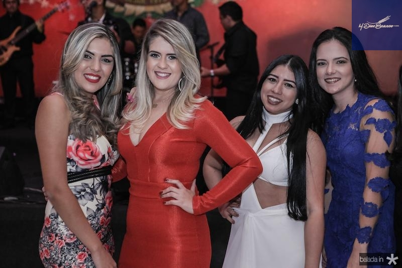 Brena Maria, Ana Livia, Davi Lima e Pamela Magalha?es