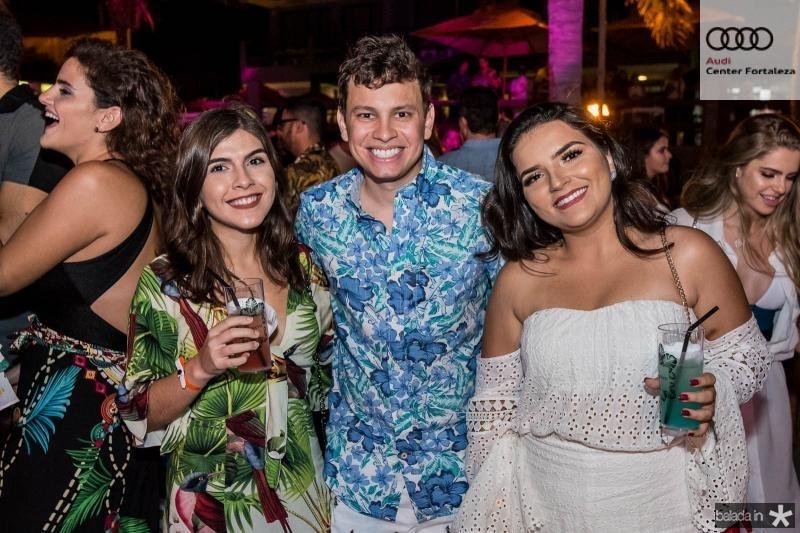 Julia Sampaio, Leonardo Morais e Liane Peixoto