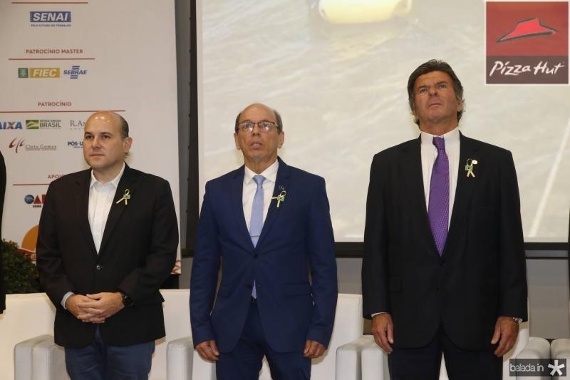 Roberto Claudio, Andre Montenegro e Luiz Fux