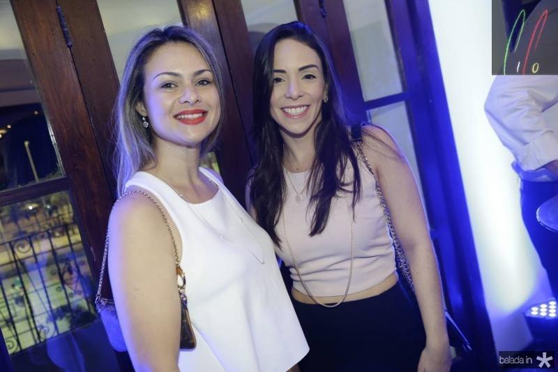 Karla Krupskaia e Juliana Lima