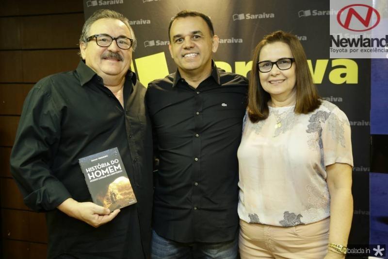 Francisco Lima, Edmac Trigueiro e Fatima Lima