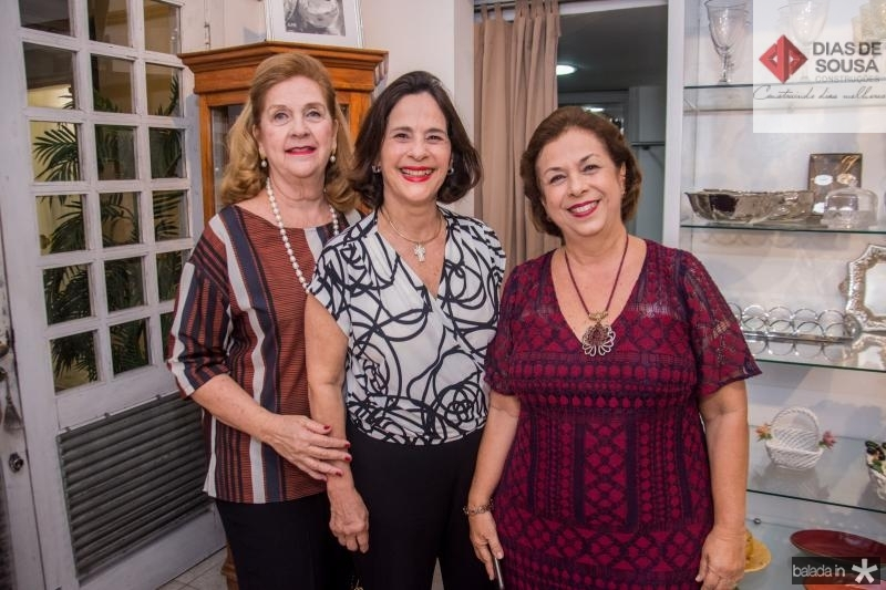 Maria Tereza Pinto, Cristina Miranda e Julia Philomeno