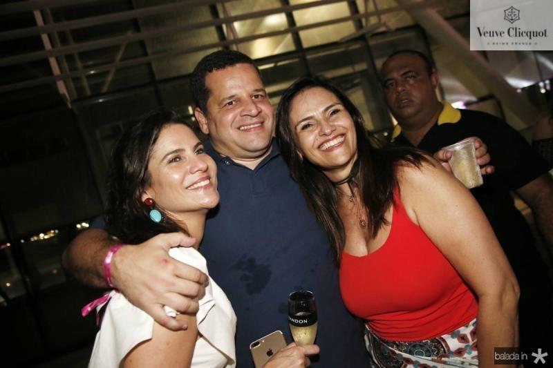 Luciana e augusto Borges e Silvania Pinto
