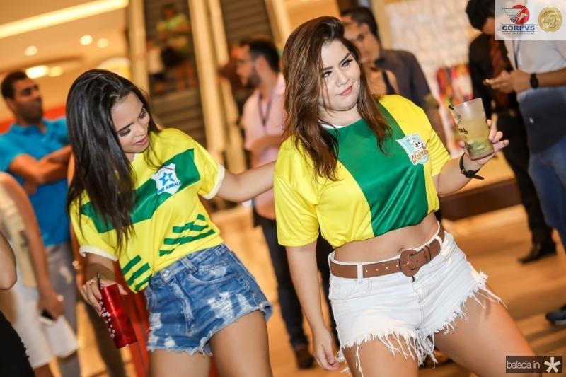 Tafila de Paula e Rebeca Alves