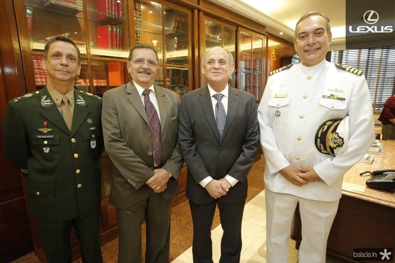 General Cunha Matos, Nirez, Gladyson Pontes e Comandante Madson Cardoso