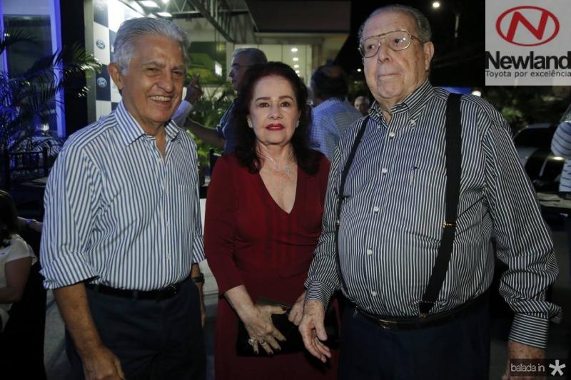 Oto de Sa Cavalcante, Itala e Edson Ventura