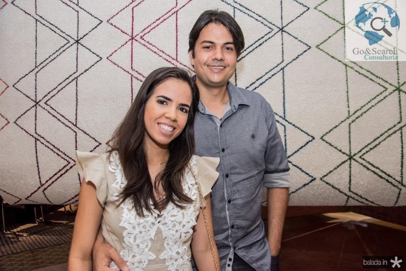 Tatiana Soares e Mario Braga