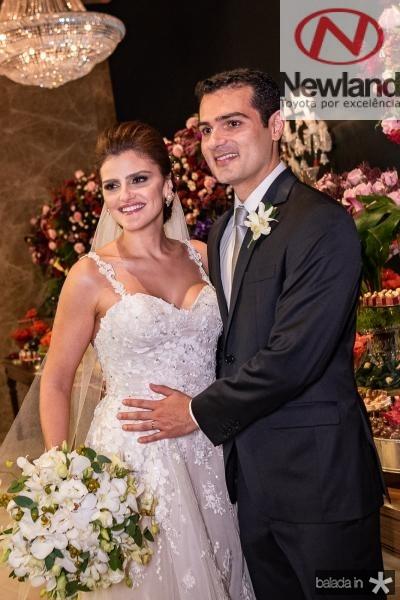 Isabele Studart e José Carlos Machado