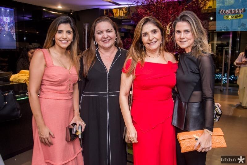 Jessica Figueiredo, Lili Cialdini, Christiane Figueiredo e Camille Cidrao