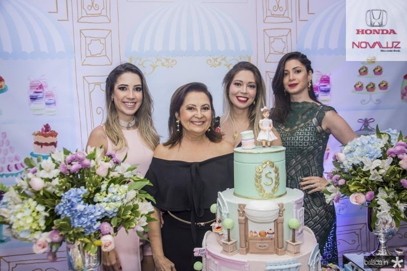 Liana Sa, Socorro Campos, Priscila Campos e Kamilly Petrola