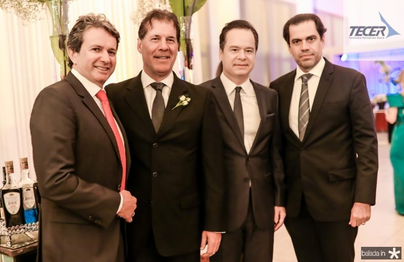 Aderaldo Silva, Artur Magalhaes, Lizandro Fujita e Etevaldo Nogueira