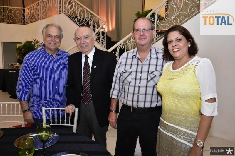 Ricardo Miranda,Armando Cavalcante e Airton e Viviane Martins
