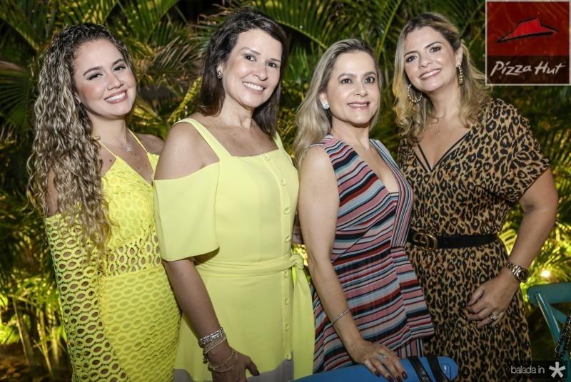 Hanna Joca, Paula Castro, Cristiane Ary e Tais Pinto