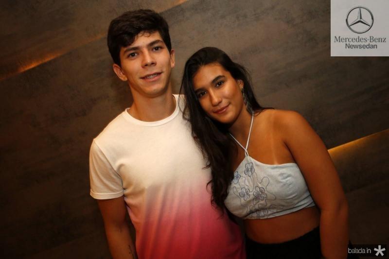 Vinicius Cardoso e Julia Tadaiesky