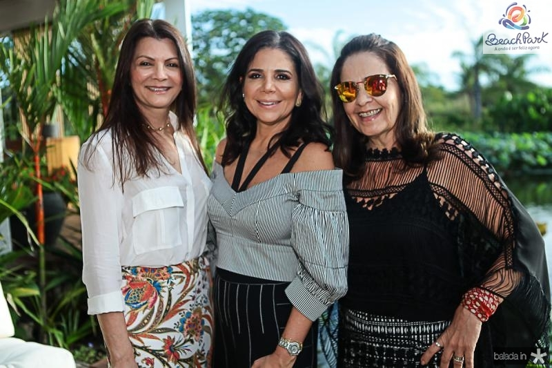 Liliana Farias, Maria Lucia Negrao e Giana Studart