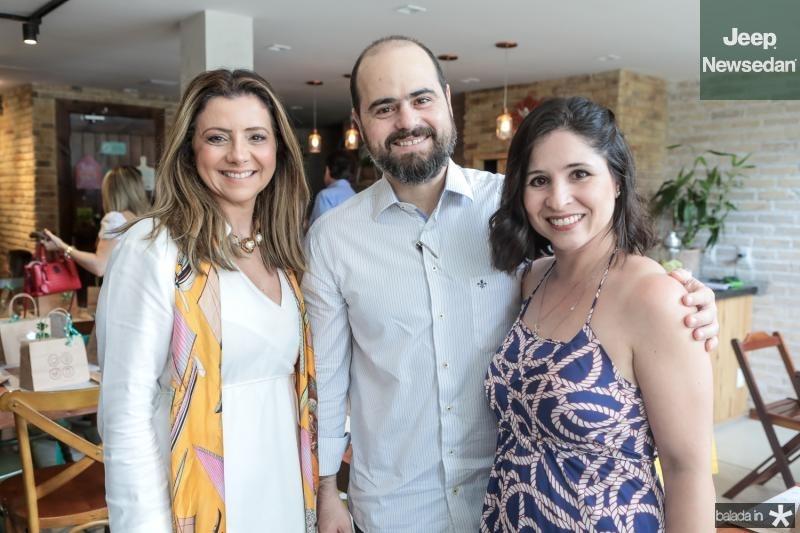 Emilia Buarque, Regis e Mariana Nogueira