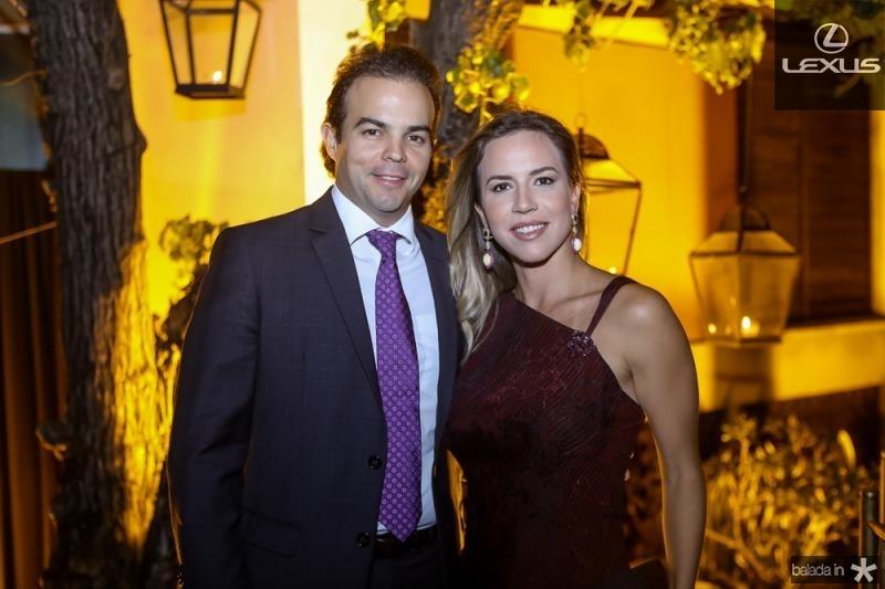 Drausio e Isabella Barros Leal
