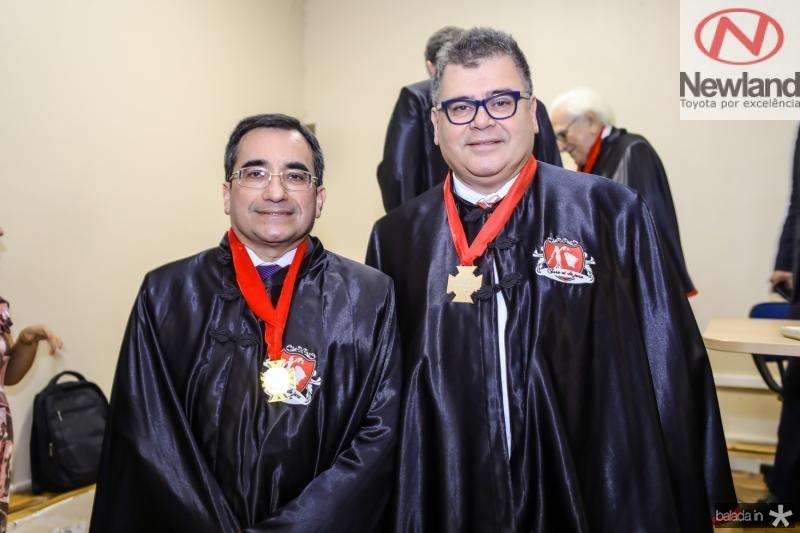 Jardson Cruz e Marcos Gomide