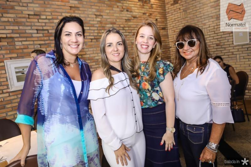 Rose Carneiro, Raquel Vasconcelos, Marina Vale e Carmen Cinira