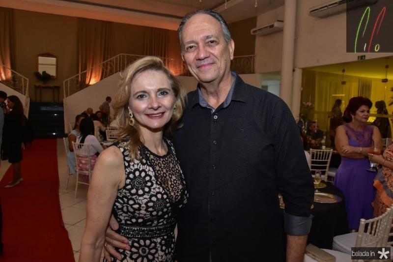 Geisla e Fabio Melo