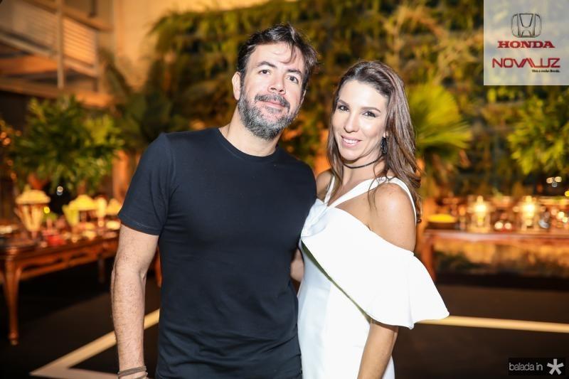 Sales Castro e Michele Borba