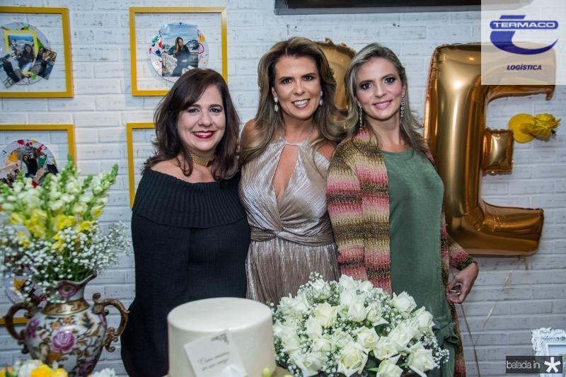 Martinha Assuncao, Alexandra Pinto e Michele Aragao